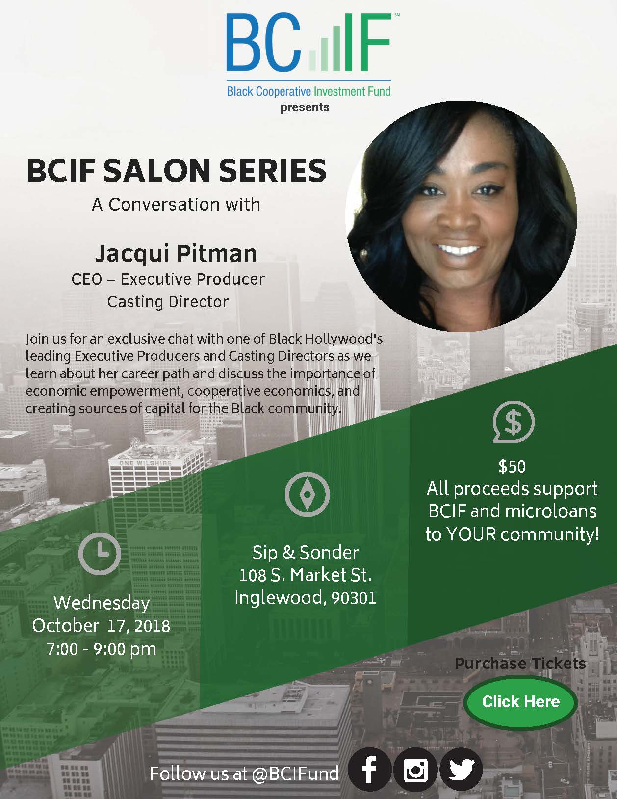 BCIF Salon Series E-flyer