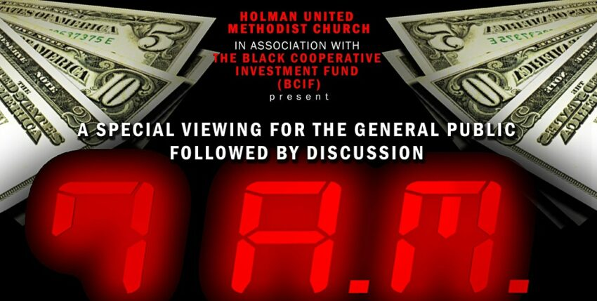 Black Cooperative Investment Fund Host Community Screening of the Documentary 7AM