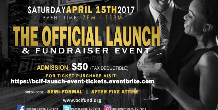 The Black Cooperative Investment Fund to Host Official Launch and Fundraiser Event