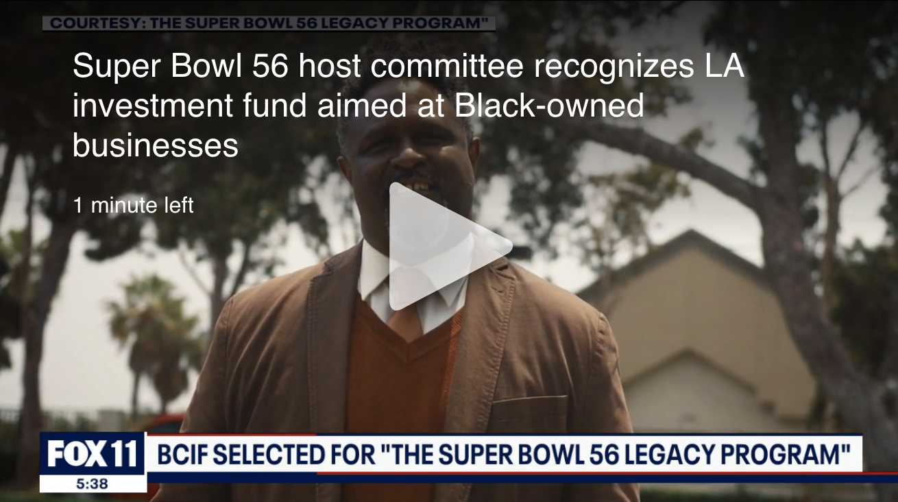 Super Bowl 56 host committee recognizes LA investment fund aimed at helping Black-owned businesses